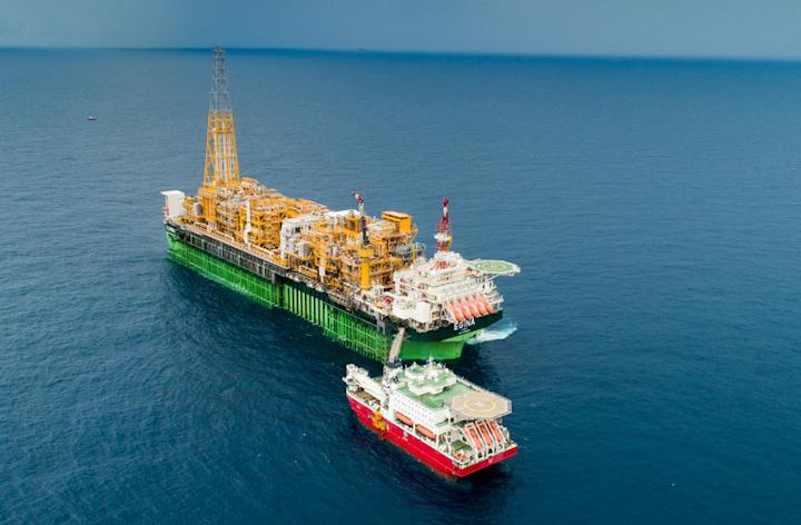 Egina FPSO offshore Nigeria