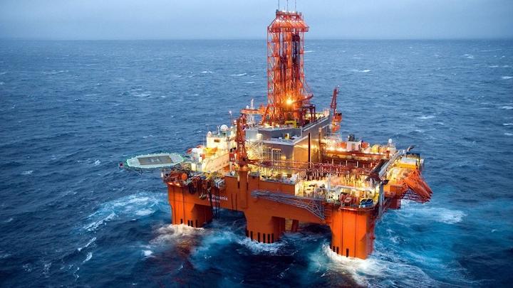 West Phoenix semisubmersible drilling rig