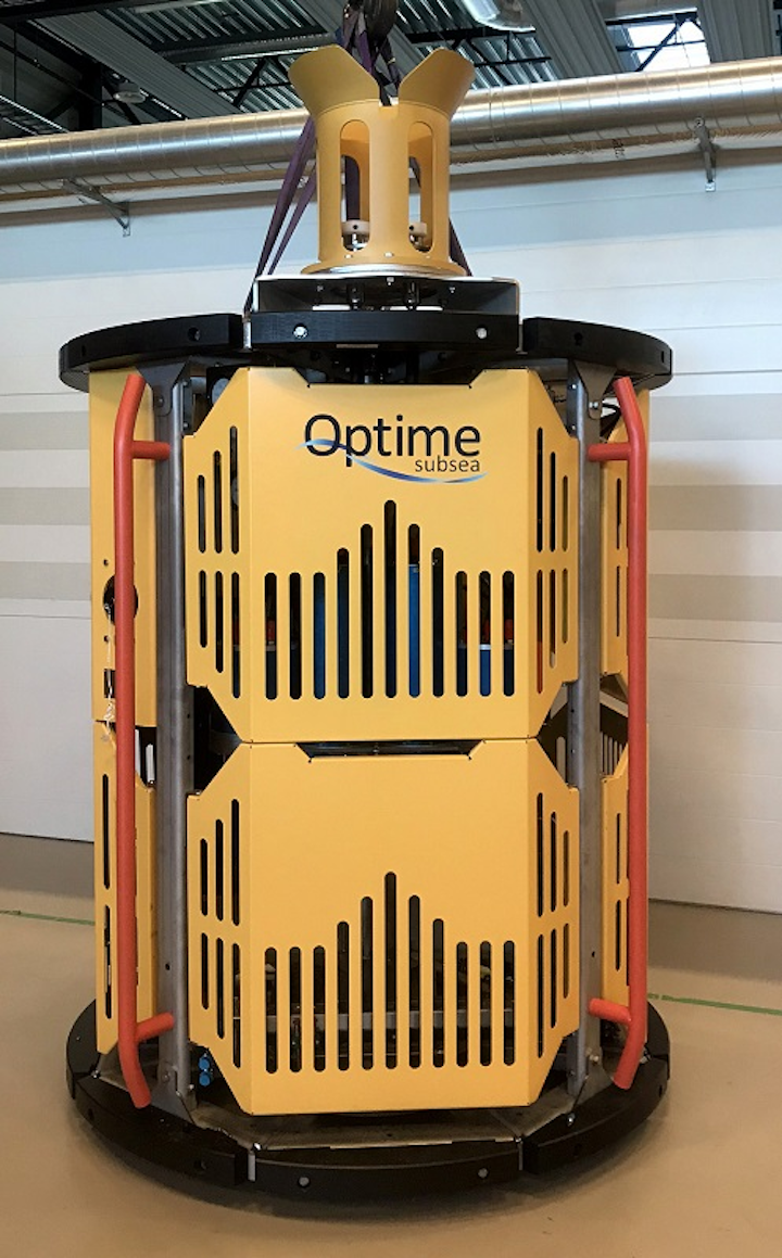 Optime Subsea's Subsea Controls and Intervention Light System