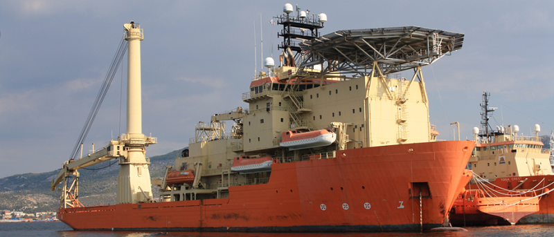 Toisa Pegasus, a multi-purpose offshore construction and dive support vessel