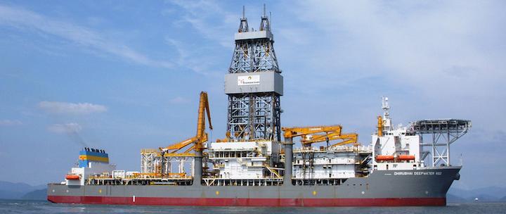 Ultra-deepwater drillship Dhirubhai Deepwater KG2
