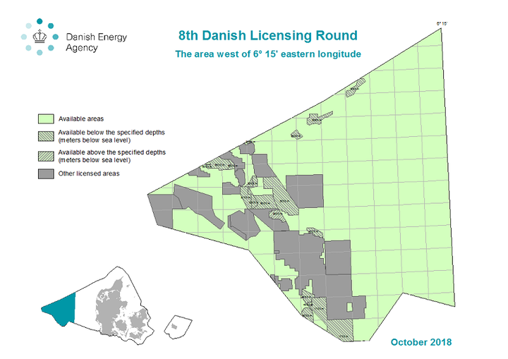 Denmark's 8th licensing round
