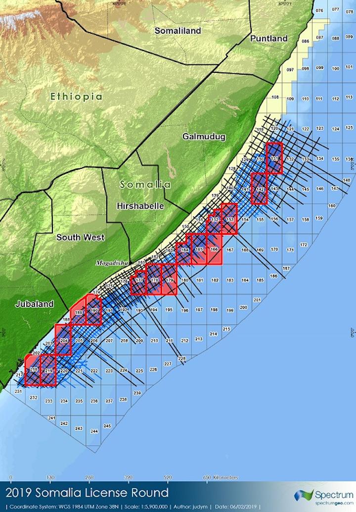 Somalia's 2019 offshore licensing round