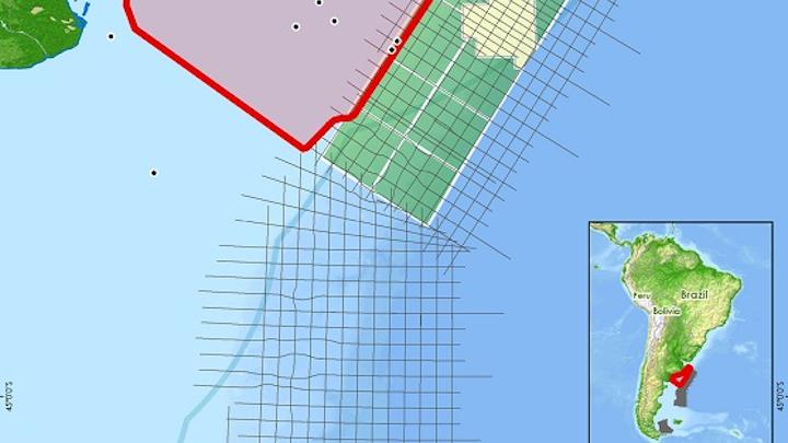 Colorado and Salado basin offshore Argentina