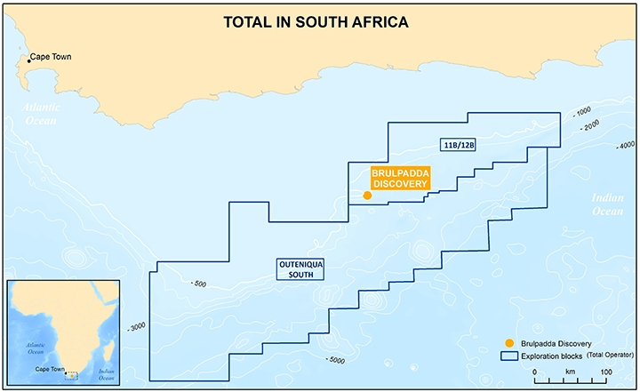 Total in South Africa