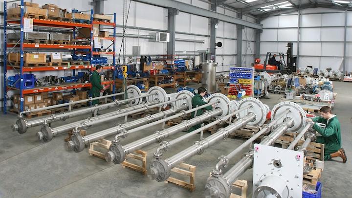 Amarinth VS4 pump assembly