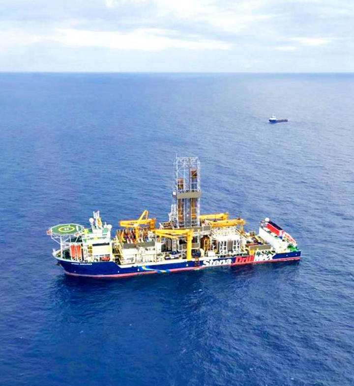 Drillship Stena DrillMAX offshore Israel
