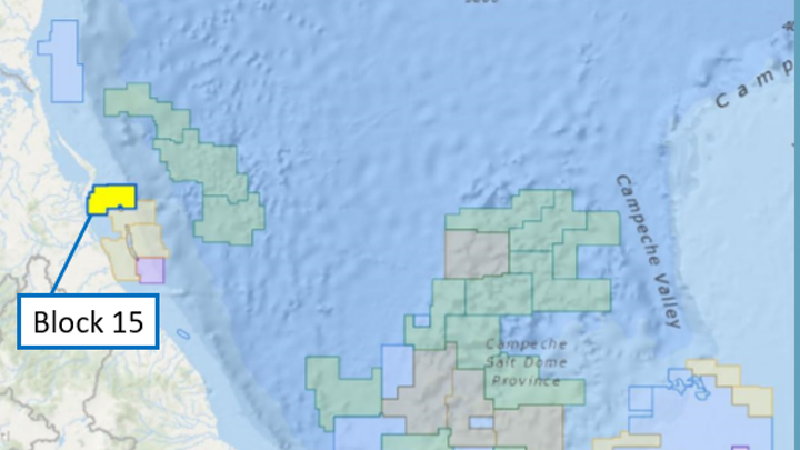 Offshore Mexico exploration
