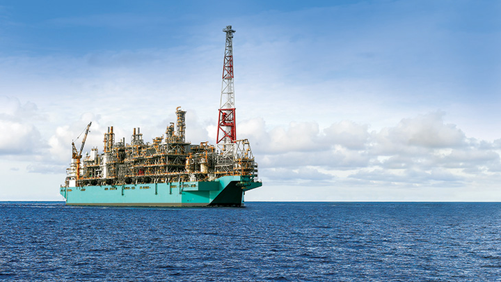 PFLNG Satu offshore Malaysia