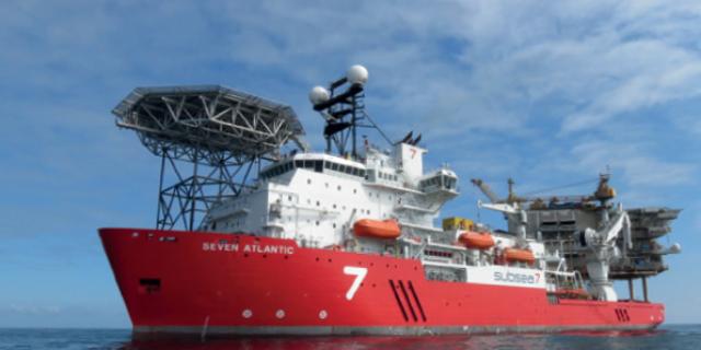 Subsea 7's diving support vessel Seven Atlantic