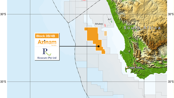 Block 3B/4B offshore South Africa