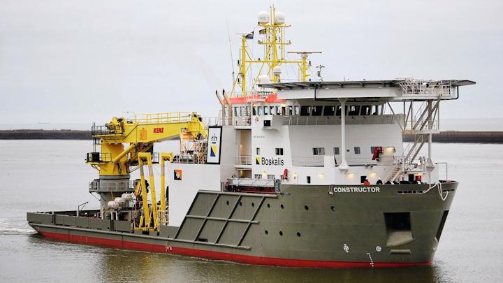Dive support vessel BOKA Constructor