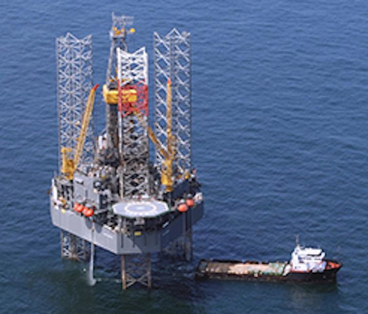 Jackup drilling rig Ralph Coffman