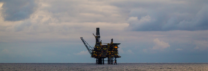 The Alba Northern platform in the UK central North Sea.
