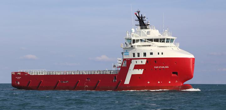 Solstad Offshore's platform supply vessel Normand Starling