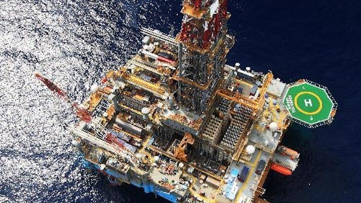 Maersk Drilling's ultra-deepwater semisubmersible Mærsk Deliverer