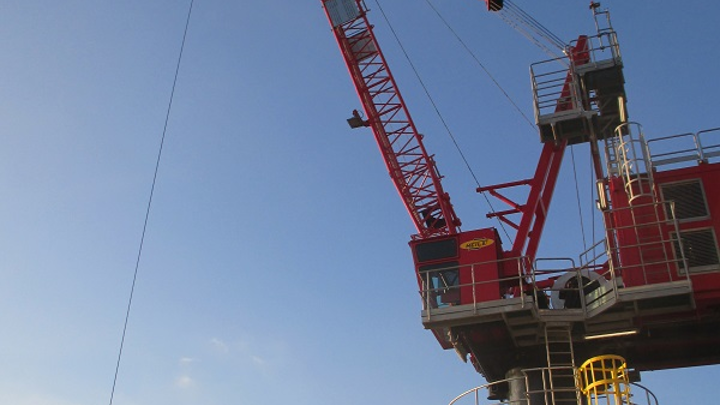 Innovo and Petroconst SA complete crane project in the Black Sea