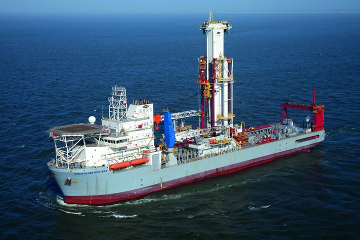 Noble Corp. drillship Noble Globetrotter II