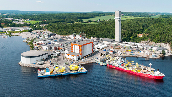 Nexans' plant in Halden, Norway