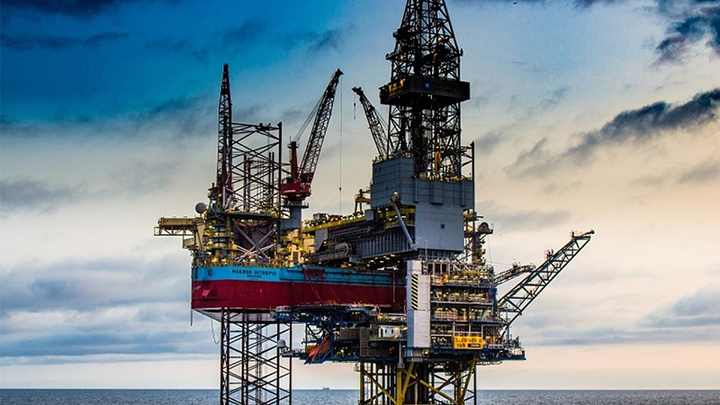 Maersk Intrepid jackup drillilng rig