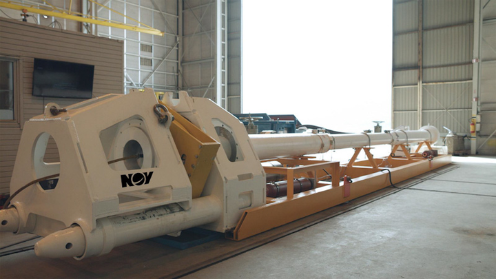 NOV subsea automated pig launcher