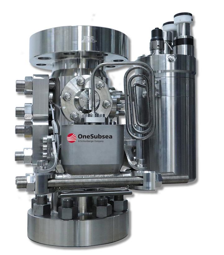 OneSubsea's Vx Omni subsea multiphase flowmeter