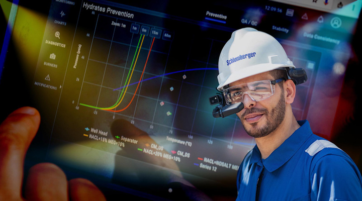 Schlumberger's Concert well testing live performance