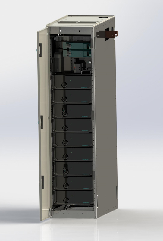 BlueVault lithium-ion battery-based energy storage solution