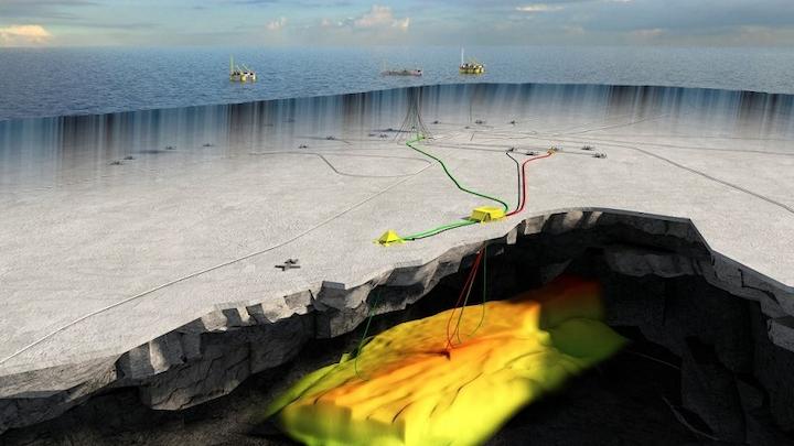 Trestakk subsea field layout