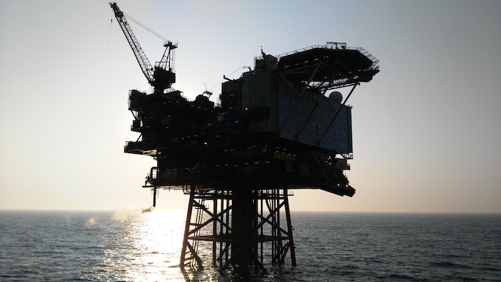 The Jotun B platform offshore Norway.