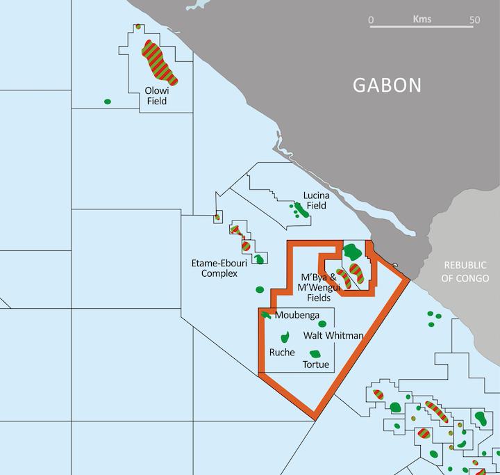Dussafu PSC offshore Gabon