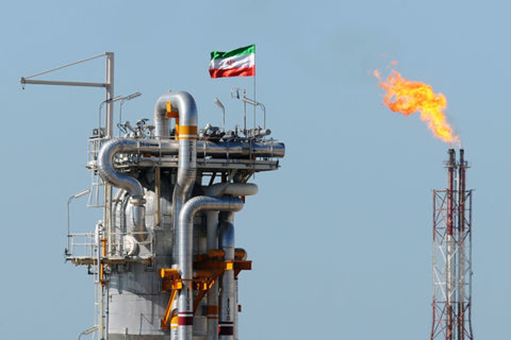 South Pars gas field development in the Persian Gulf.