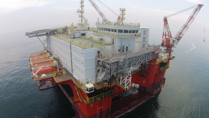 Prosafe's semisubmersible Safe Eurus will provide safety and maintenance support to Petrobras offshore Brazil.