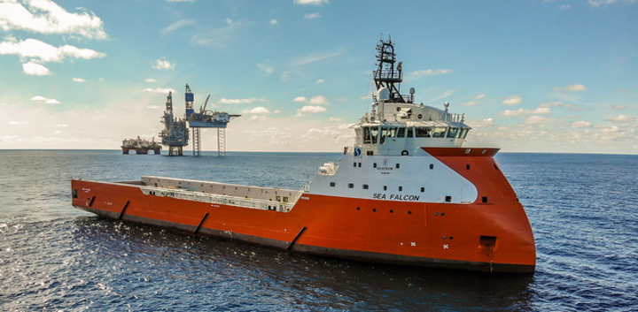Platform supply vessel Sea Falcon