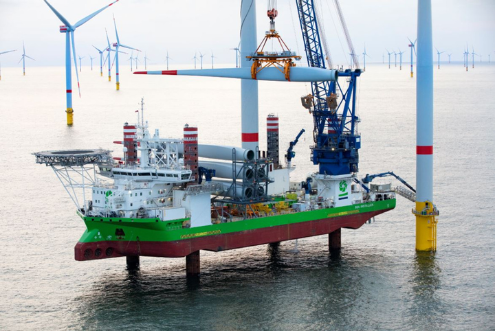 The Sea Installer will install the turbines at the Hornsea Two offshore wind farm.