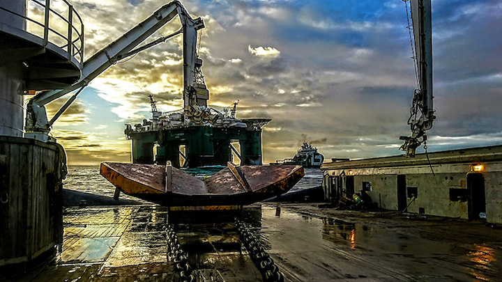The semisubmersible Leiv Eiriksson drilled the dual-branch 16/1-31 S and 16/1-31 A wells on the Jorvik and Tellus East prospects in license PL338 on the Utsira High in the Norwegian North Sea.