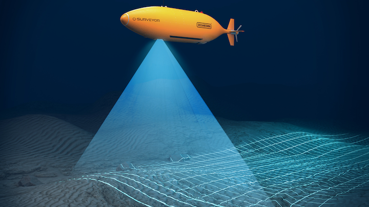 The geophysical survey will be performed for BHP at the deepwater Trion field offshore Mexico.