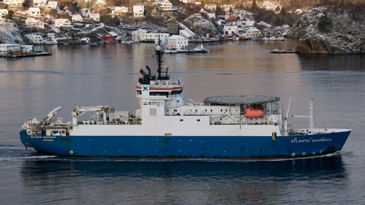 EMGS is expected to mobilize the Atlantic Guardian vessel for the PEMEX contract.