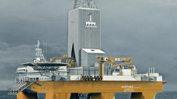 The semisubmersible Deepsea Nordkapp will drill exploration well 24/9-13 in production license 86 in the North Sea.