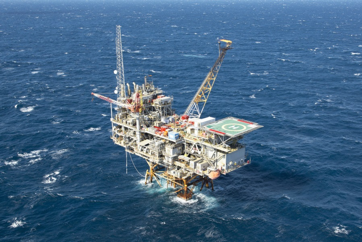 The Enchilada fixed platform is in Garden Banks block 128 in the Gulf of Mexico.