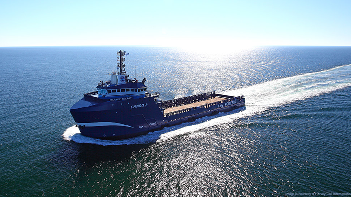 The Harvey Energy will become the first ABS-classed dual fuel and battery vessel and the first US flagged offshore supply vessel equipped with a battery/converter system.
