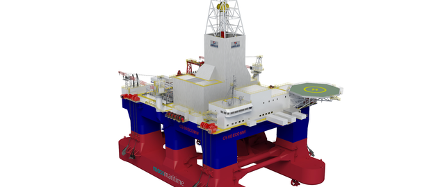 Lamprell delivers eighth consecutive jackup to NDC