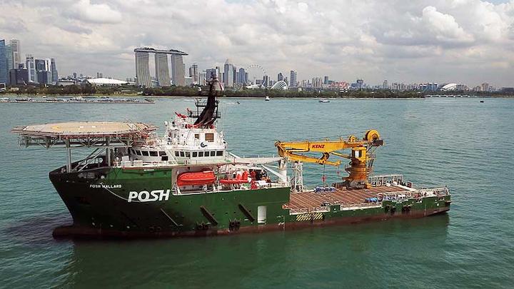 The offshore support vessel POSH Mallard