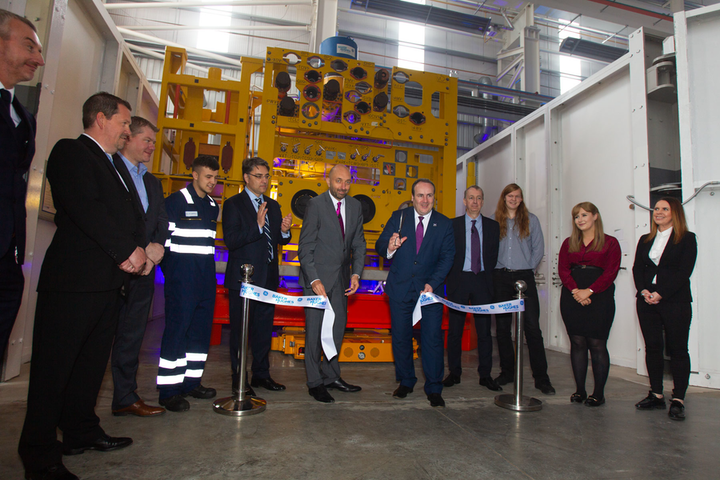 Opening of the Centre of Excellence in Montrose, Scotland.