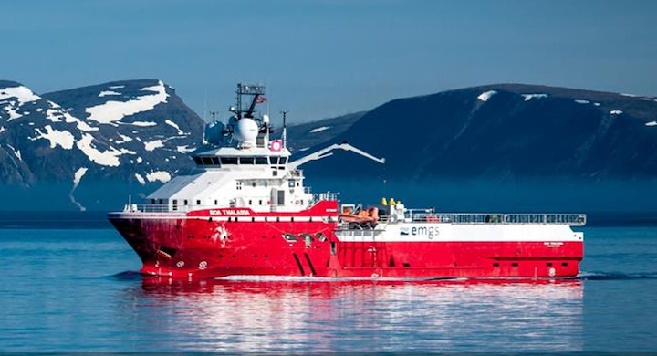 The BOA Thalassa is expected to be renamed Petrel Explorer.