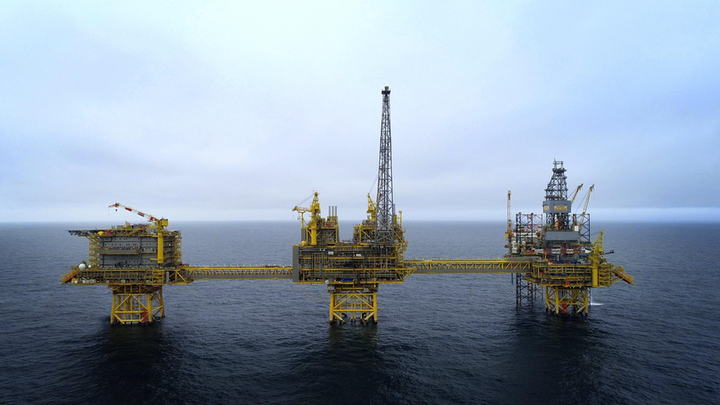 The Culzean field development involved drilling six wells, construction of three bridge-linked platforms and an FSO unit.