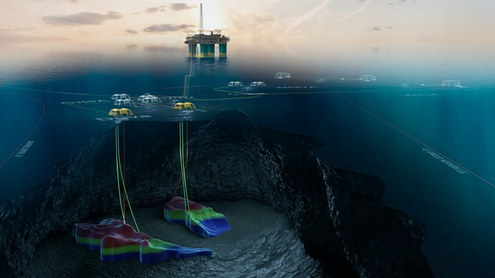 The Duva development calls for a four-slot subsea template tied back to the Gjøa semisubmersible platform for processing and export.