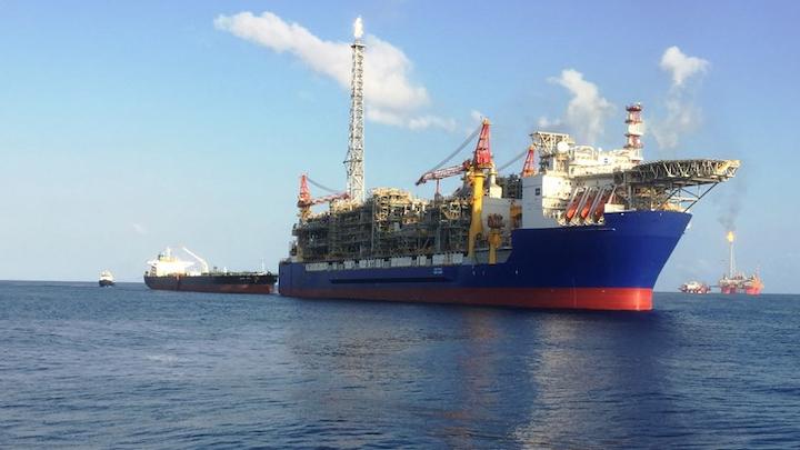 Ichthys LNG project offshore northwest Australia.