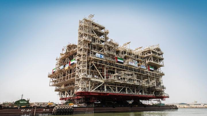 NPCC will install the Umm Lulu gas treatment platform via the float-over method.