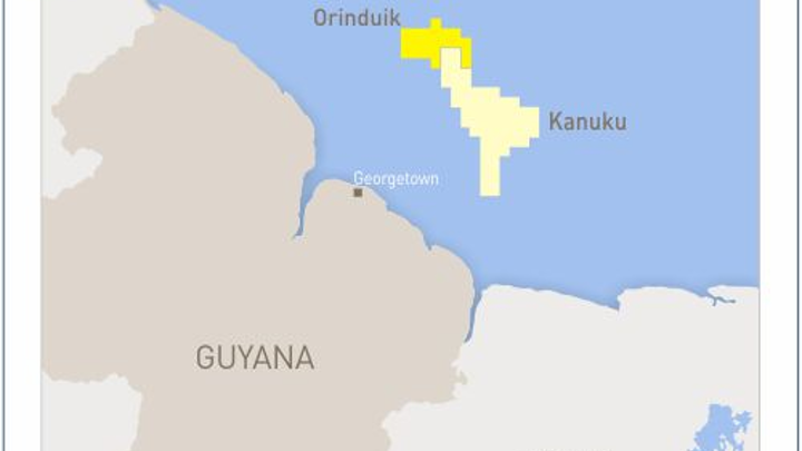 Tullow plans to drill two back-to-back exploration wells on the Orinduik block offshore Guyana.